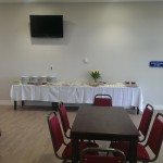 Catering and room layout